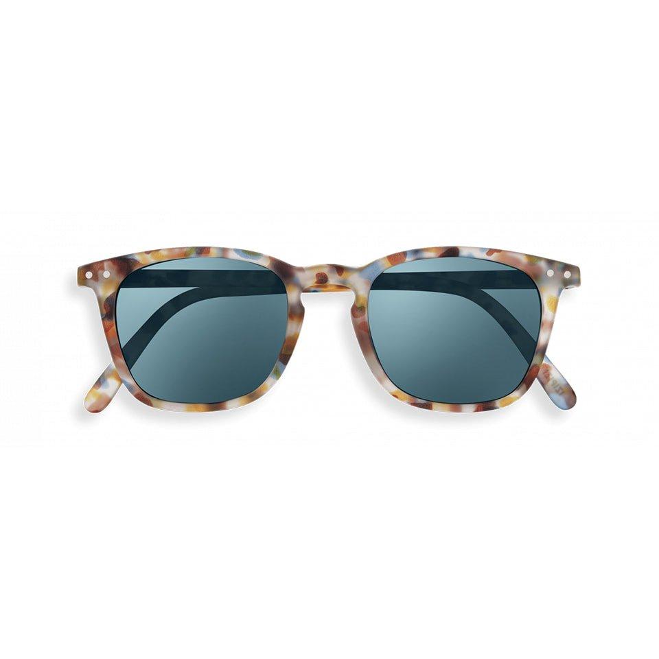【IZIPIZI】SUN MIRROR #E (BLUE TORTOISE)|イジピジ・サン・ミラー・イー(ブルートータス)|旧See Concept,ウェリントン,UVカット,ミラーサングラス