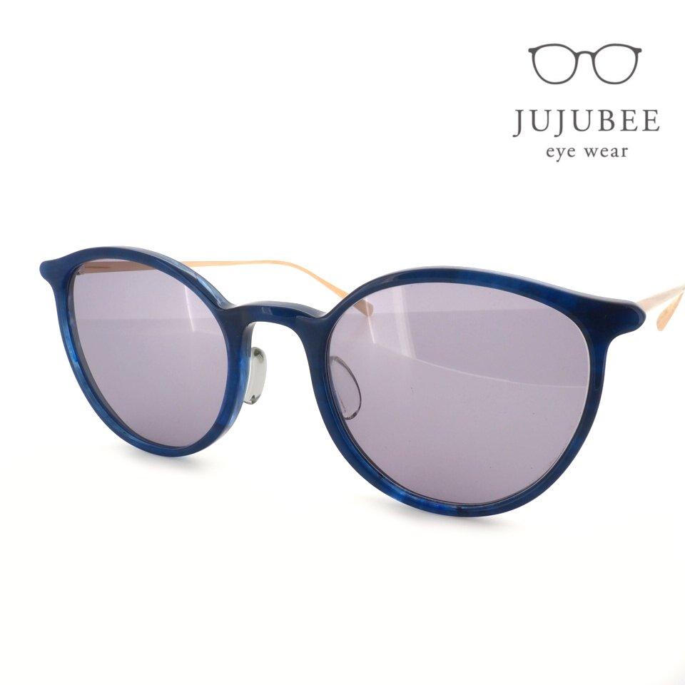 【JUJUBEE / ジュジュビー】 iroum 1973-3 (aicon / 藍紺)   ボストン,サングラス