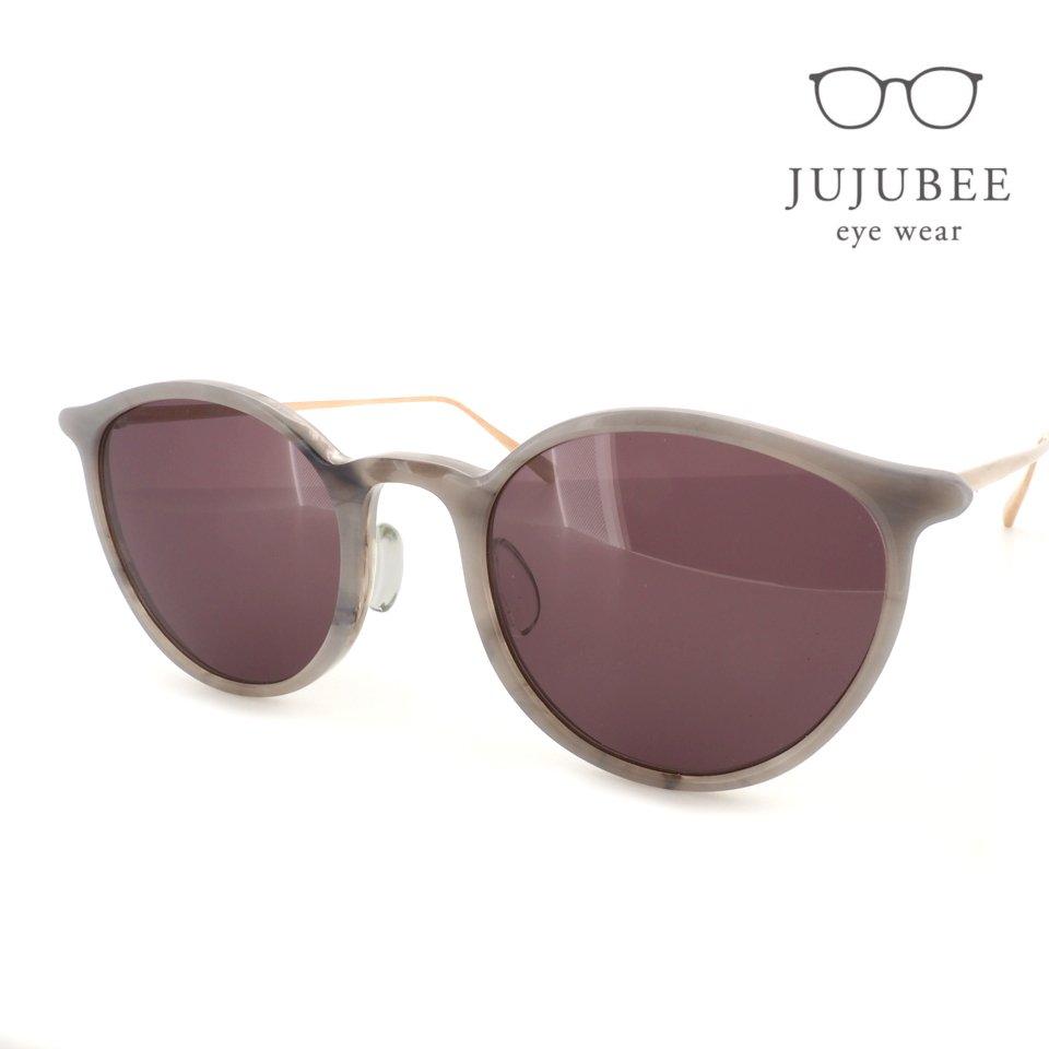 【JUJUBEE / ジュジュビー】 iroum 1973-4 (hakuji / 白磁)   ボストン,サングラス