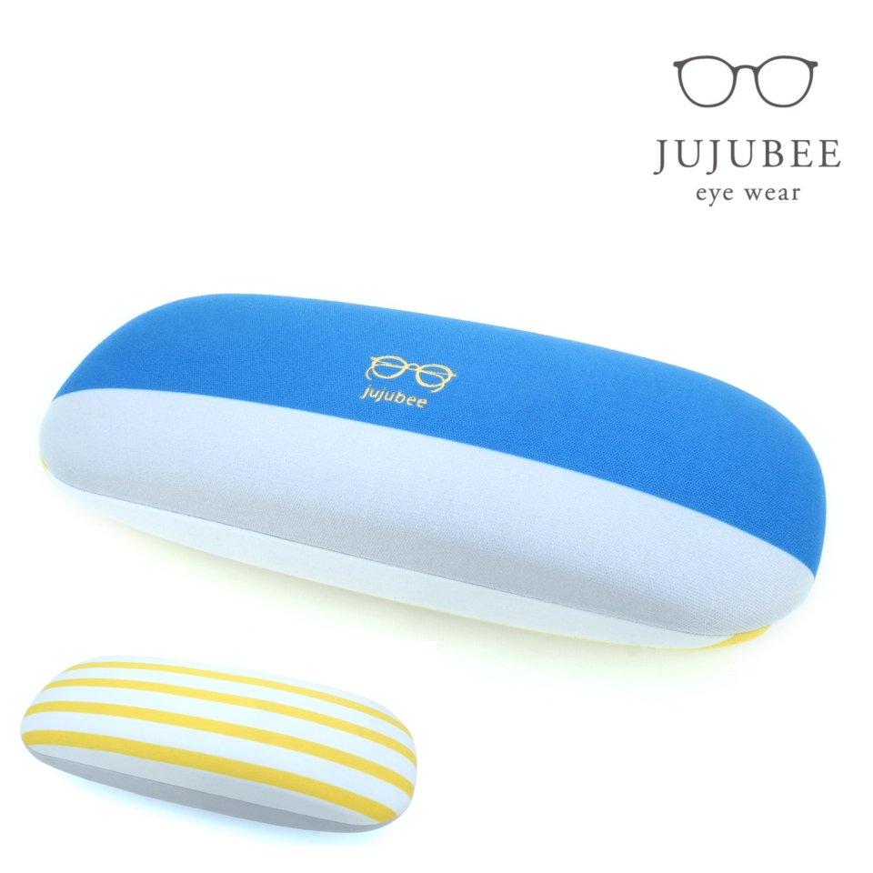 【JUJUBEE / ジュジュビー】 c・c・h グレインボーダー (イエロー) | メガネケース