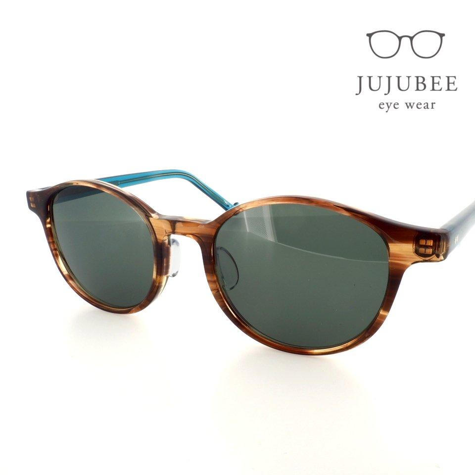 【JUJUBEE / ジュジュビー】 iroum 1981-2 (oribe / 織部)   ボスリントン,サングラス