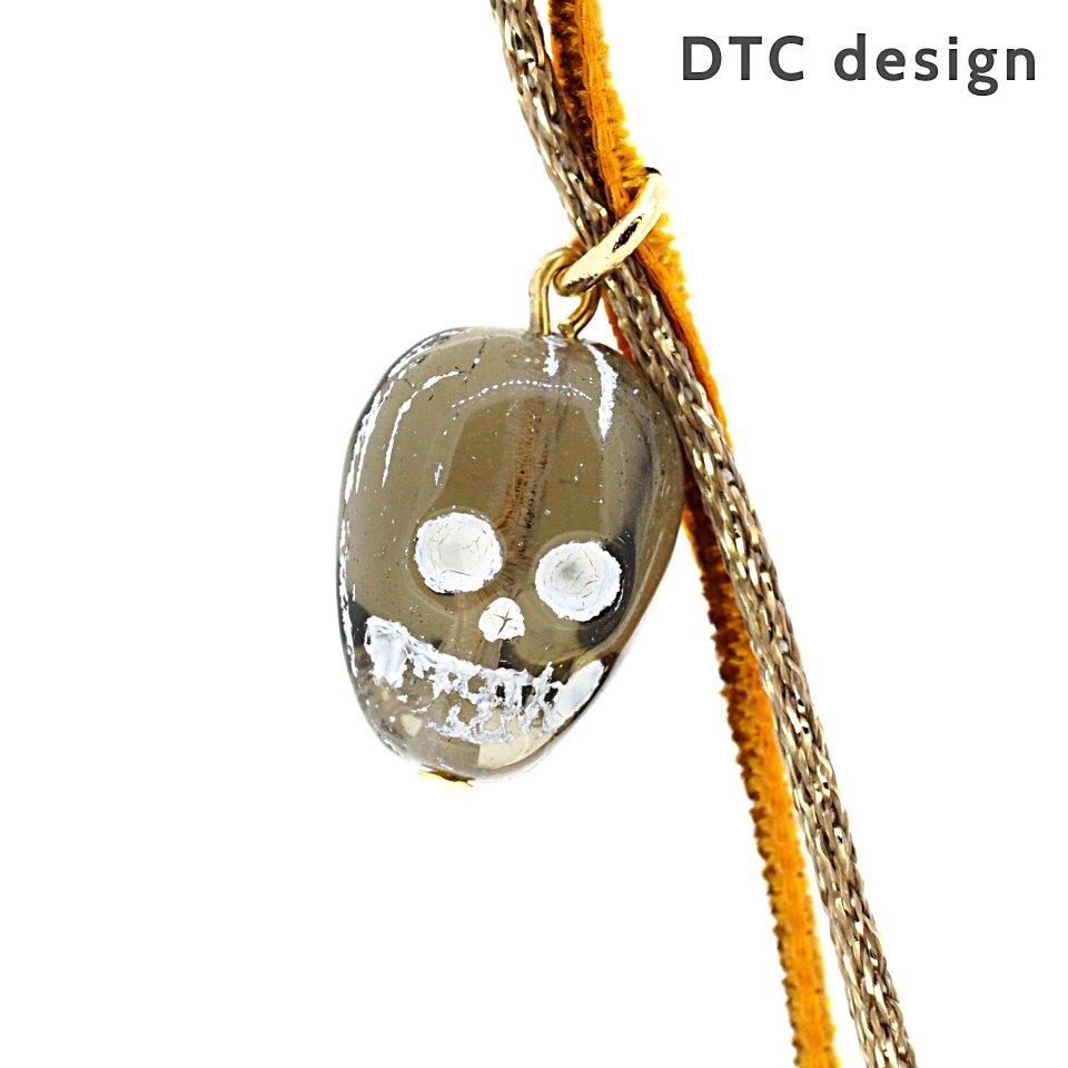 DTC design ハロウィーン・スカルモチーフ・グラスコード