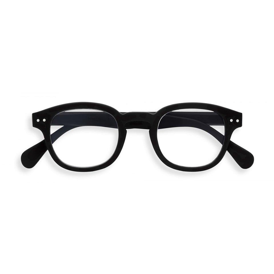 【IZIPIZI / イジピジ】 SCREEN READING #C / スクリーン・リーディング・シー (ブラック)|ブルーライトカット,既成老眼鏡