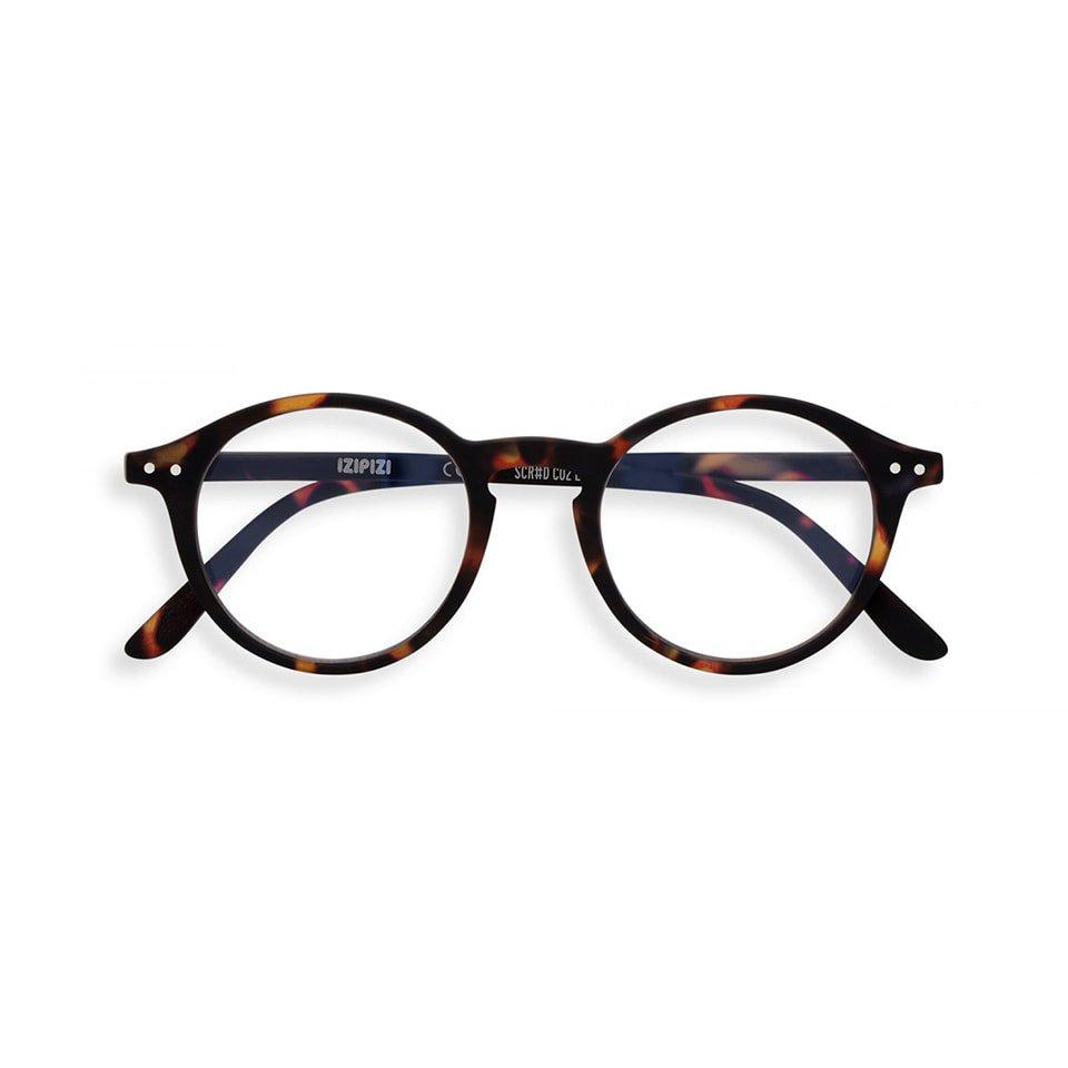 【IZIPIZI / イジピジ】 SCREEN READING #D / スクリーン・リーディング・ディー (トータス/べっ甲)|ブルーライトカット,既成老眼鏡