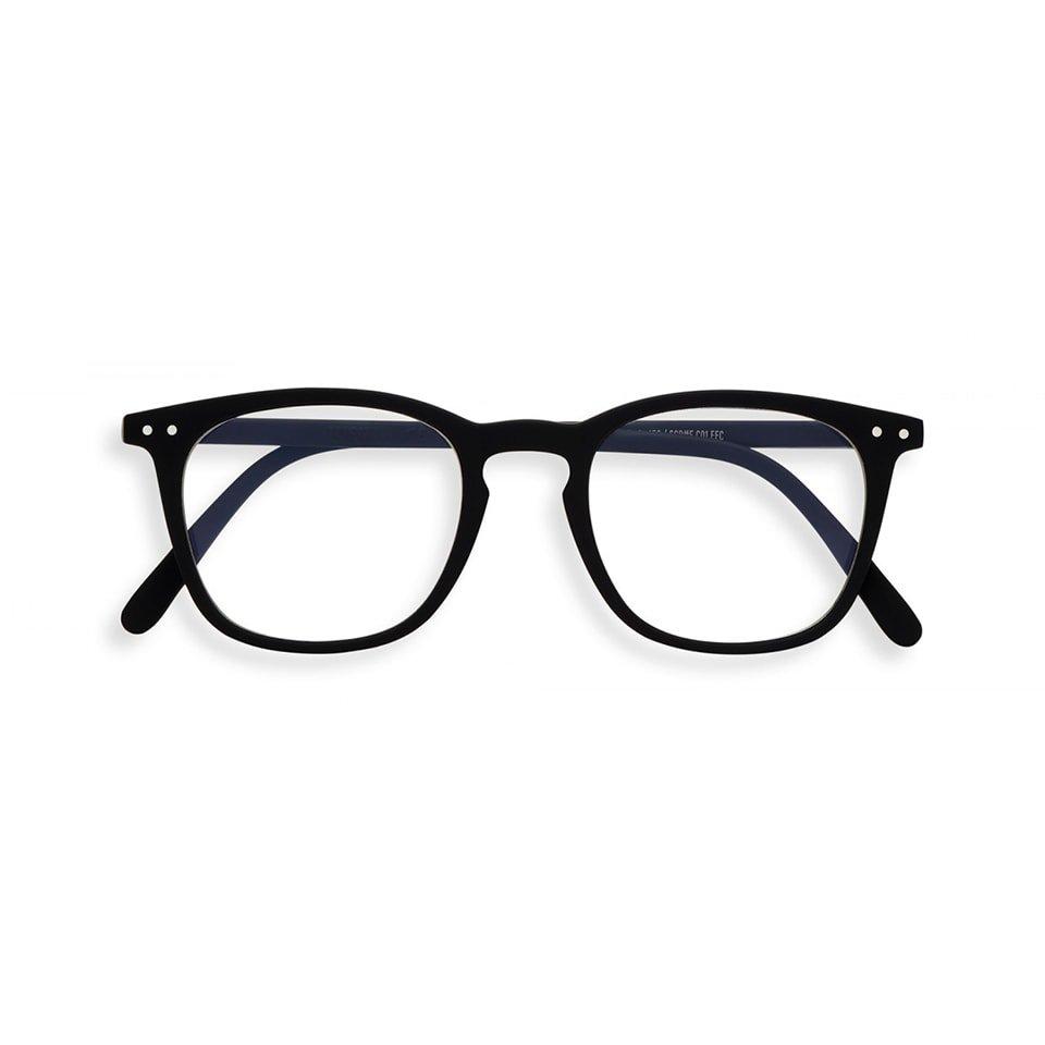 【IZIPIZI / イジピジ】 SCREEN READING #E / スクリーン・リーディング・イー (ブラック)|ブルーライトカット,既成老眼鏡