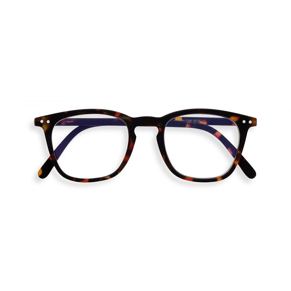 【IZIPIZI / イジピジ】 SCREEN READING #E / スクリーン・リーディング・イー (トータス/べっ甲)|ブルーライトカット,既成老眼鏡