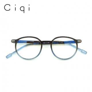 【JUJUBEE / ジュジュビー】 Ciqi Chet PC / シキ・チェット・ピーシー (ブルー)|クラウンパント,ブルーライトカット,既成老眼鏡