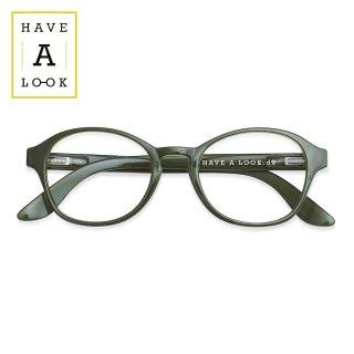 【HAVE A LOOK】READING GLASSES CIRCLE (army)|ハブアルック・リーディンググラス・サークル(アーミー)|既成老眼鏡