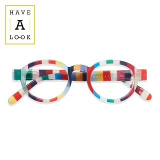 【HAVE A LOOK】READING GLASSES CIRCLE TWIST (candy)|ハブアルック・リーディンググラス・サークルツイスト(キャンディー)|既成老眼鏡