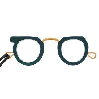 【JUJUBEE】Ciqi Peep Glasses (Green)|ジュジュビー・シキ・ピープ・グラス (グリーン)|手持ち老眼鏡,リーディンググラス