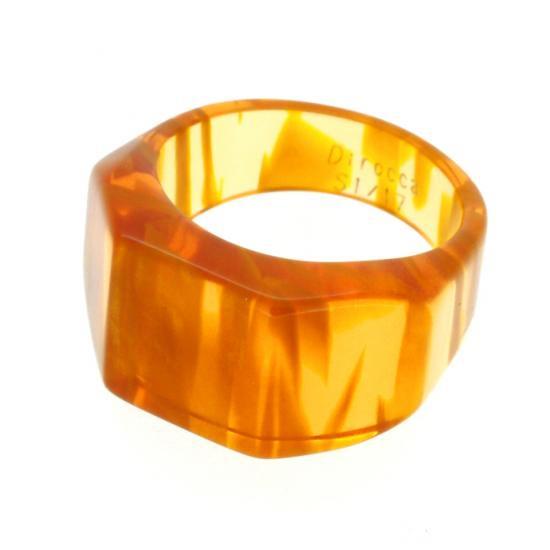 【Dirocca / ディロッカ】 Ring S-1 17号 (002) | リング,指輪,メガネ素材アクセサリー