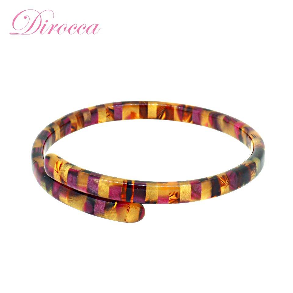 【Dirocca / ディロッカ】 ブレスレット (501) | メガネ素材アクセサリー