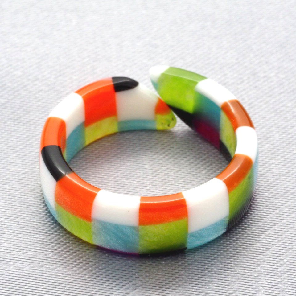 【Dirocca / ディロッカ】 Pinky Ring / ピンキーリング No.02 | 指輪,メガネ素材アクセサリー
