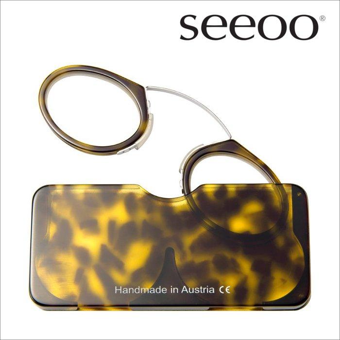 【seeoo / シーオ】 classic (トータス) | 鼻眼鏡,老眼鏡,リーディンググラス