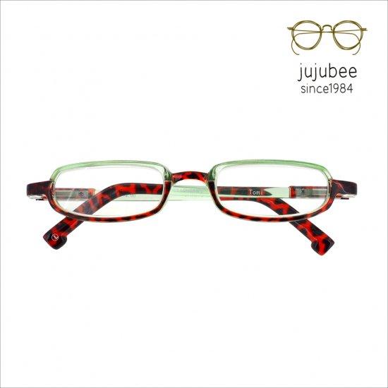 【JUJUBEE / ジュジュビー】 LOUGAN'S Tomi / ローガンズ・トミー (グリーン)|既成老眼鏡,リーディンググラス