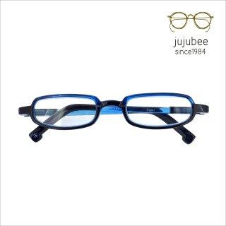 【JUJUBEE / ジュジュビー】 LOUGAN'S Tomi / ローガンズ・トミー (ブルー) | 既成老眼鏡,リーディンググラス