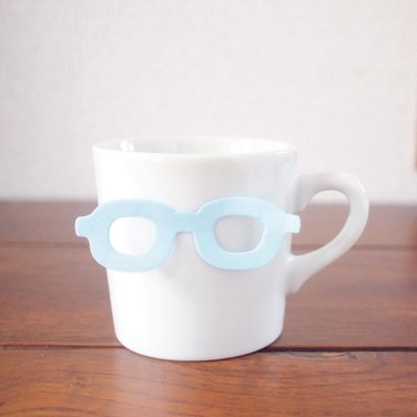 【SUGAI WORLD / スガイワールド】 めがね付箋 [Glasses-it] (ブルー)   ふせん,ポストイット