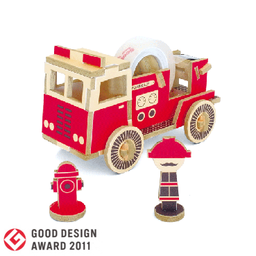 PLAY-DECO/プレイデコ [work vehicles] FIRE TRUCK(消防車)