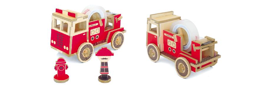 PLAY-DECO/プレイデコ FIRE TRUCK (消防車)