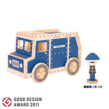 PLAY-DECO/プレイデコ [work vehicles] ARMORED TRUCK(現金輸送車)