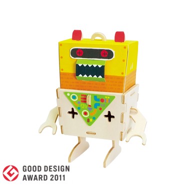 PLAY-DECO/プレイデコ [ROBOTS] CITRON(シトロン)