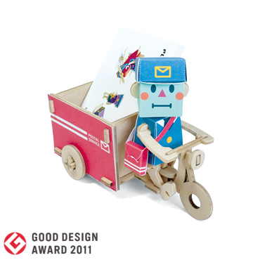 PLAY-DECO/プレイデコ [character stationery] POSTMAN & WAGON