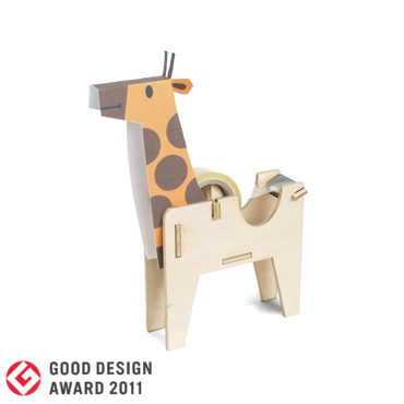 PLAY-DECO/プレイデコ [character stationery]GIRAFFE TAPE DISPENSER