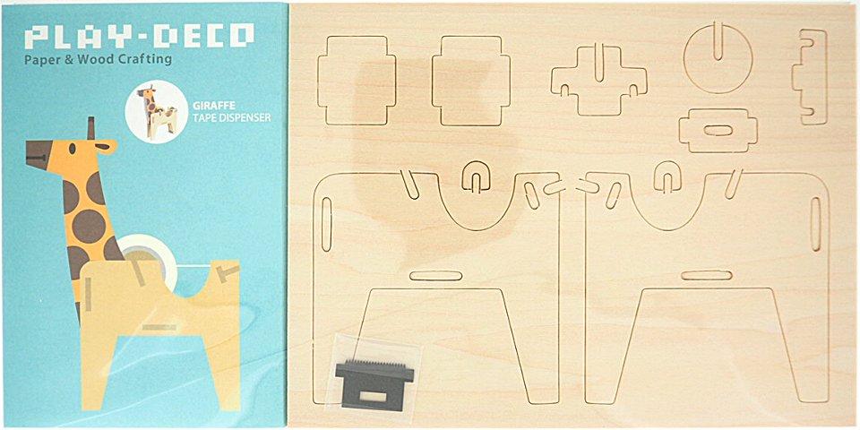 PLAY-DECO/プレイデコ GIRAFFE TAPE DISPENSER (テープ・ディスペンサー)