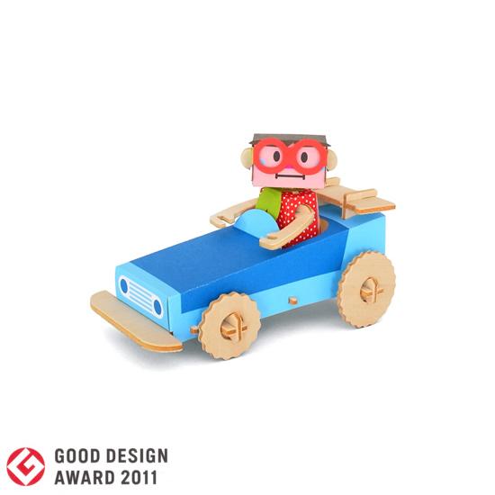 PLAY-DECO/プレイデコ [character&vehicle]JUNKO&SUPERCAR