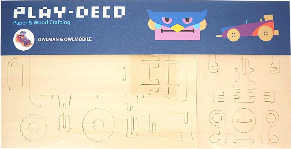 PLAY-DECO/プレイデコ OWLMAN&OWLMOBILE(オウルマン&オウルモビール)