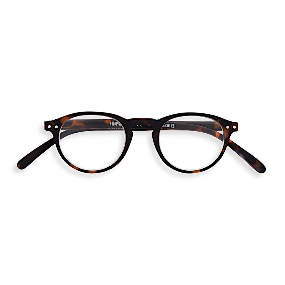【IZIPIZI】READING #A TORTOISE|旧See Concept,イジピジ・リーディング・エー(トータス/べっ甲)|ボスリントン,小さい,UVカット,伊達メガネ,度無