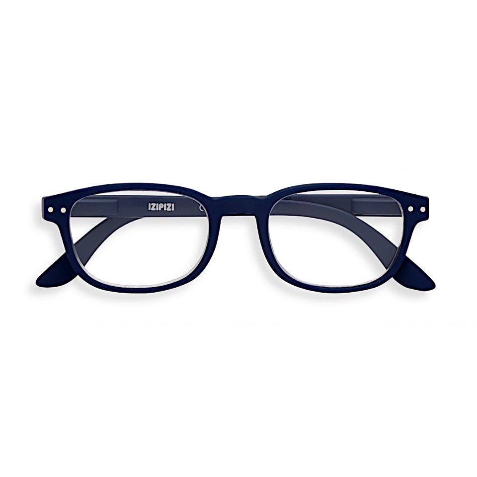 【IZIPIZI / イジピジ】(旧See Concept シーコンセプト) READING #B / リーディング・ビー (ネイビーブルー) | ウェリントン,伊達メガネ