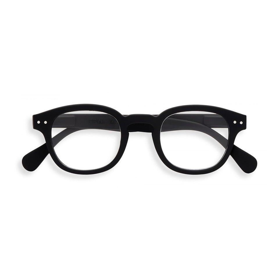 【IZIPIZI / イジピジ】 READING #C / リーディング・シー(ブラック)|旧See Concept,ボスリントン,伊達メガネ