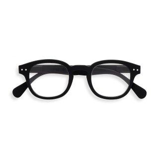 【IZIPIZI】READING #C (BLACK)|イジピジ・リーディング・シー(ブラック)|旧See Concept,ボスリントン,UVカット,伊達メガネ,度無