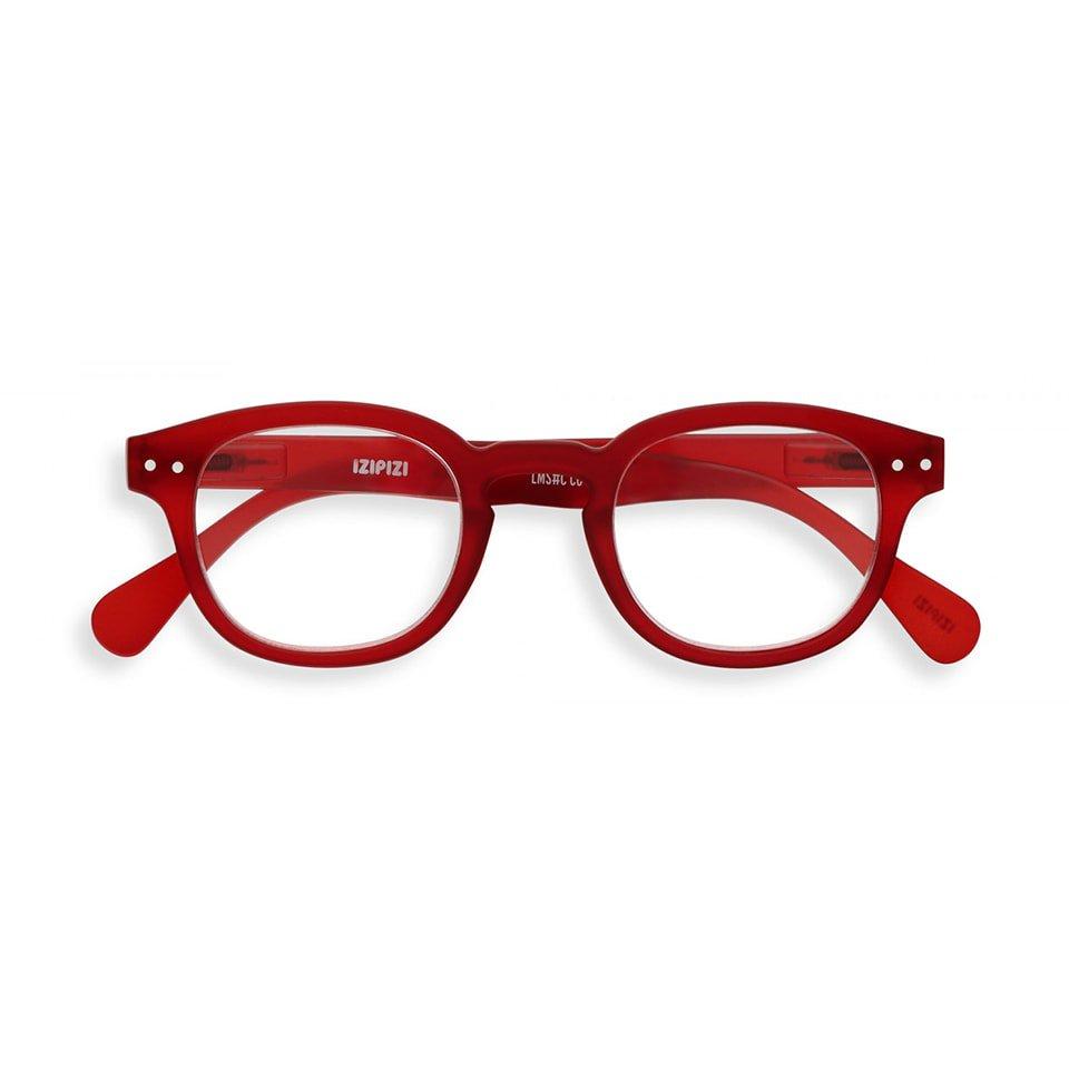 【IZIPIZI / イジピジ】 READING #C / リーディング・シー(レッド)|旧See Concept,ボスリントン,伊達メガネ