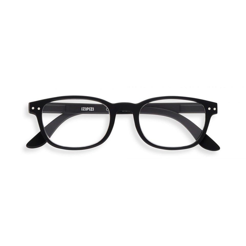 【IZIPIZI / イジピジ】(旧See Concept シーコンセプト) READING #B / リーディング・ビー (ブラック) | ウェリントン,既成老眼鏡,リーディンググラス