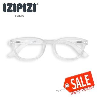 【IZIPIZI / イジピジ】(旧See Concept シーコンセプト) READING #B / リーディング・ビー (ホワイト) | ウェリントン,既成老眼鏡,リーディンググラス