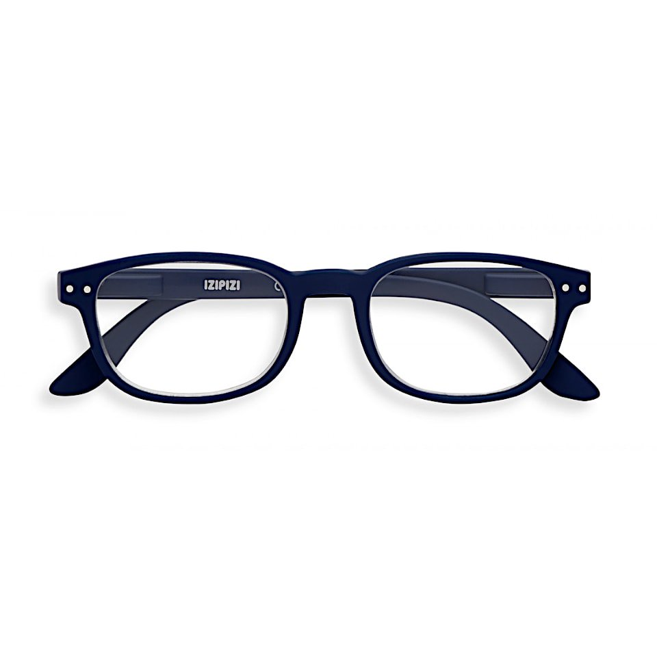 【IZIPIZI / イジピジ】 READING #B / リーディング・ビー (ネイビーブルー)|旧See Concept,ウェリントン,既成老眼鏡,リーディンググラス