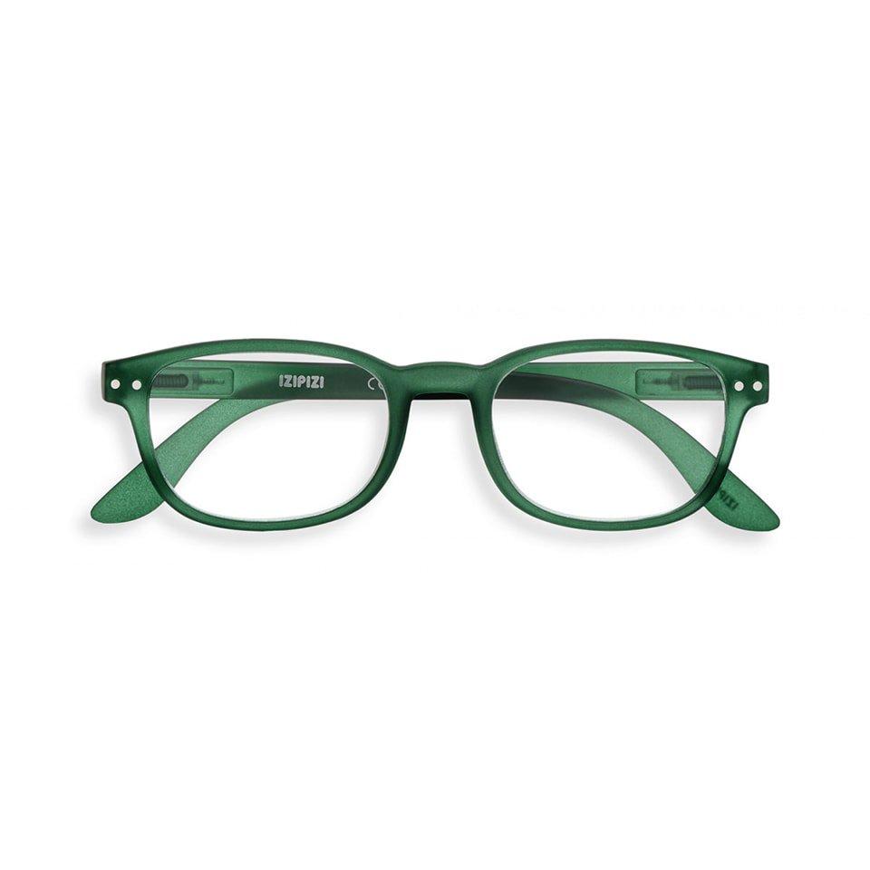 【IZIPIZI / イジピジ】 READING #B / リーディング・ビー (グリーン) | 旧See Concept,ウェリントン,既成老眼鏡,リーディンググラス