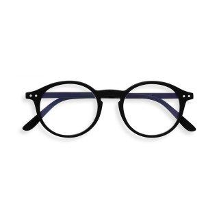 【IZIPIZI】SCREEN #D BLACK|旧See Concept,イジピジ・スクリーン・ディー(ブラック)|ボストン,ブルーライトカット/PCメガネ,度無