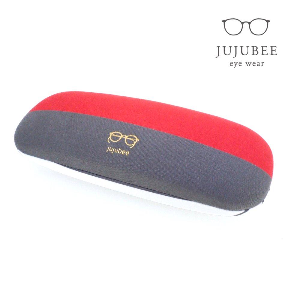 【JUJUBEE / ジュジュビー】 c・c・h グレインボーダー (コーラル)|メガネケース