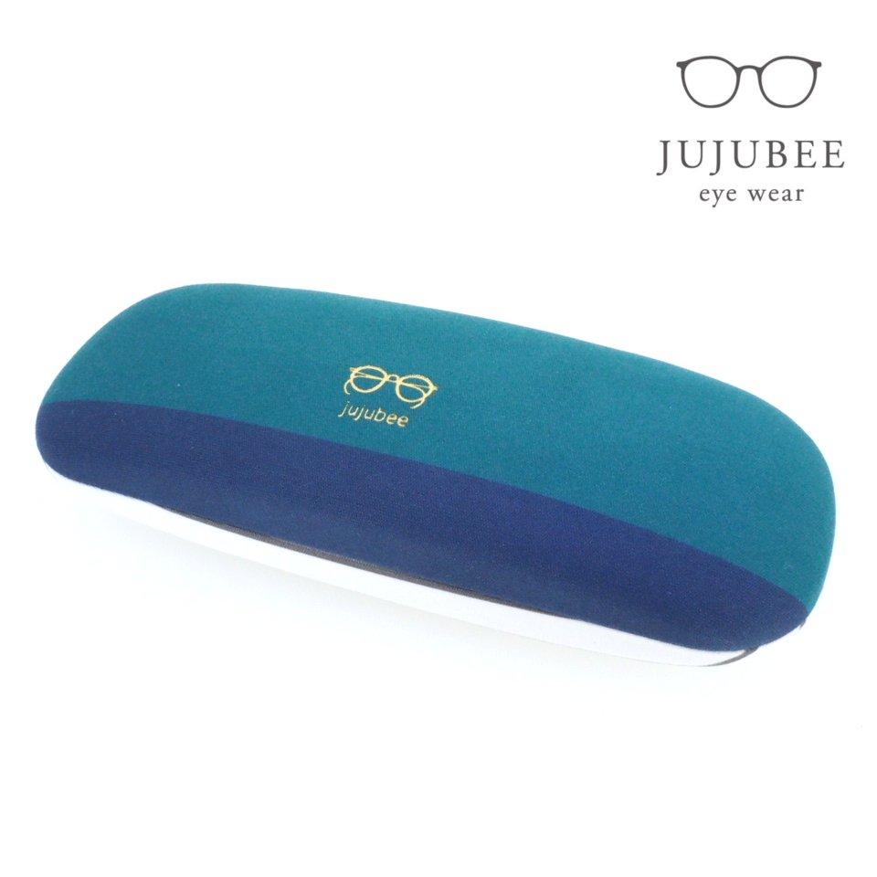 【JUJUBEE / ジュジュビー】 c・c・h グレインボーダー (グリーン) | メガネケース