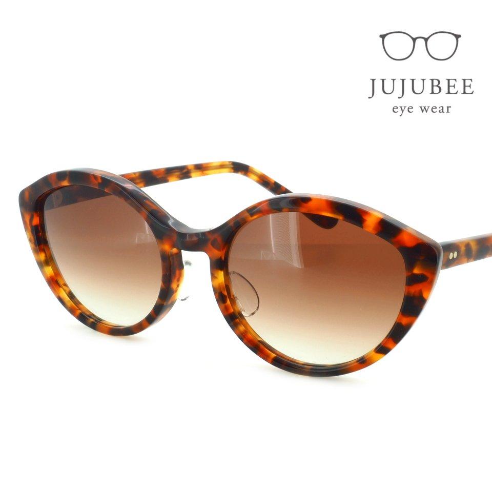 【JUJUBEE / ジュジュビー】 iroum / イロウム 1962-2 (kurikawa / 栗皮色)|フォックス,サングラス