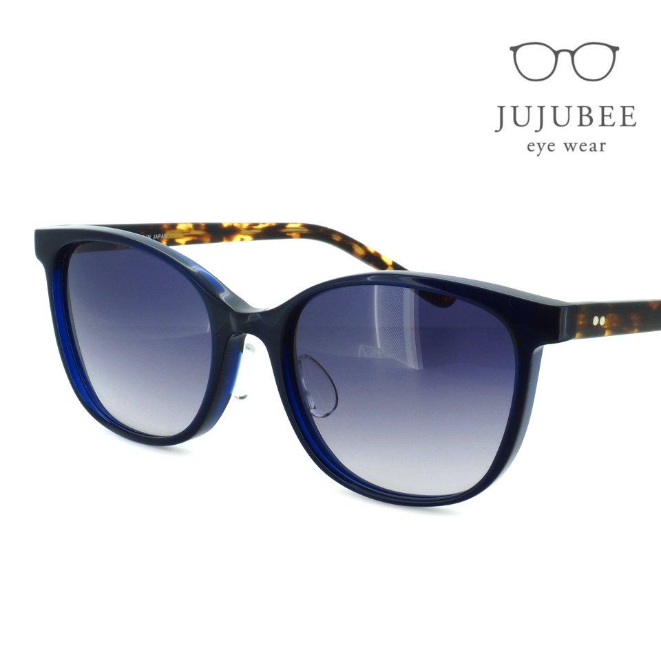【JUJUBEE / ジュジュビー】 iroum / イロウム 1978-2 (coiai / 濃藍)|スクエア,サングラス