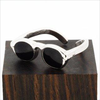 【Bonny L. / ボニーエル】 メガネ型リング (サングラス) | メガネモチーフアクセサリー,サイズ微調整可能
