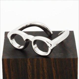 【Bonny L. / ボニーエル】 メガネ型リング (メガネ) | メガネモチーフアクセサリー,サイズ微調整可能