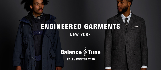 ENGINEERED GARMENTS 2020 Fall Winter