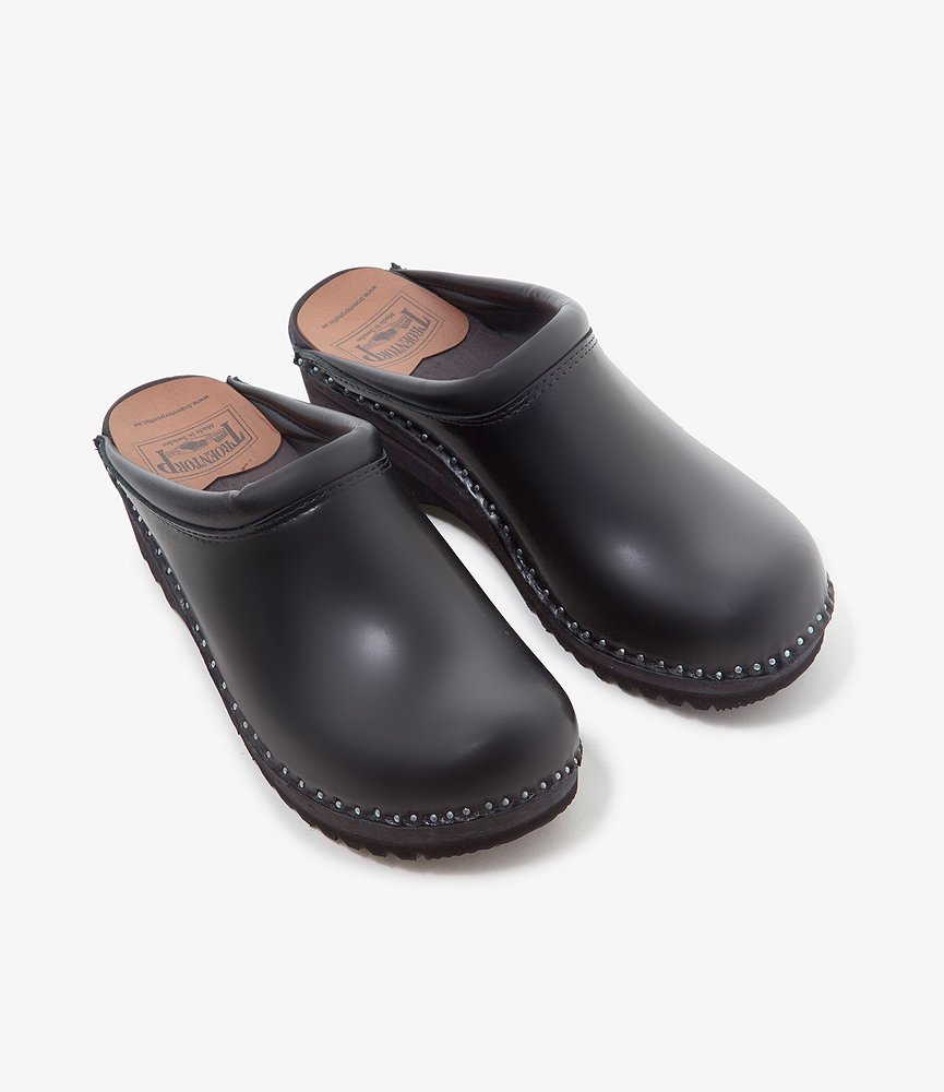 Troentorp Swedish Clog - Plain toe / Smooth