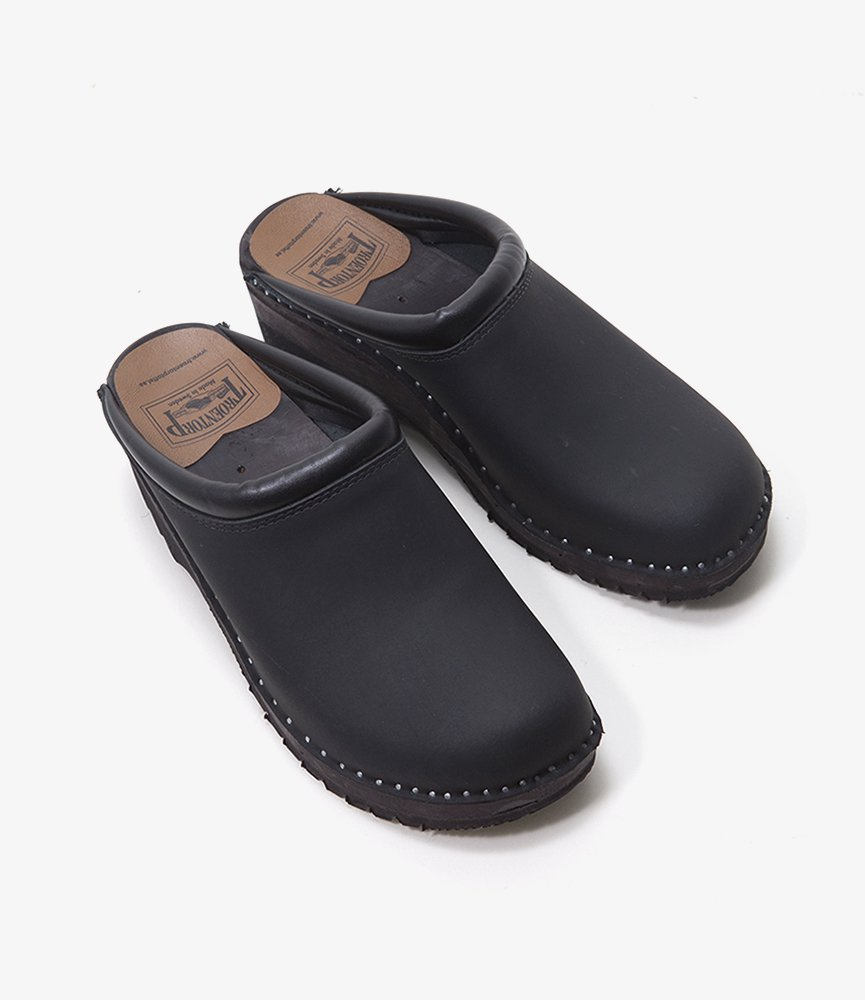 Troentorp Swedish Clog - Plain toe / Nubuck