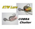 "<img class='new_mark_img1' src='https://img.shop-pro.jp/img/new/icons55.gif' style='border:none;display:inline;margin:0px;padding:0px;width:auto;' />KTW Lure ""COBRA CHATTER""(コブラチャター)"